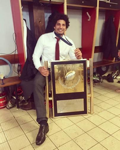 Kharim Ghezal promoveaza rugby-ul in Costa Rica