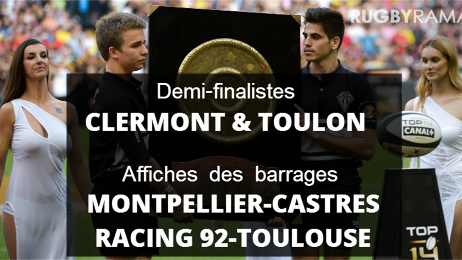 S-au stabilit calificatele in play-off-ul Top 14