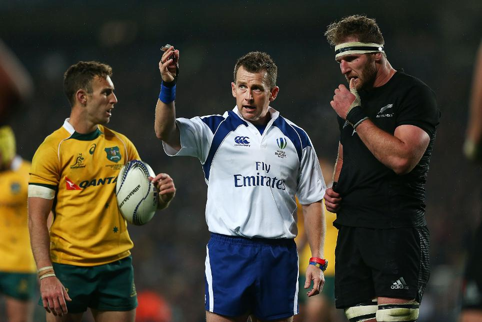Nigel Owens record de meciuri internationale