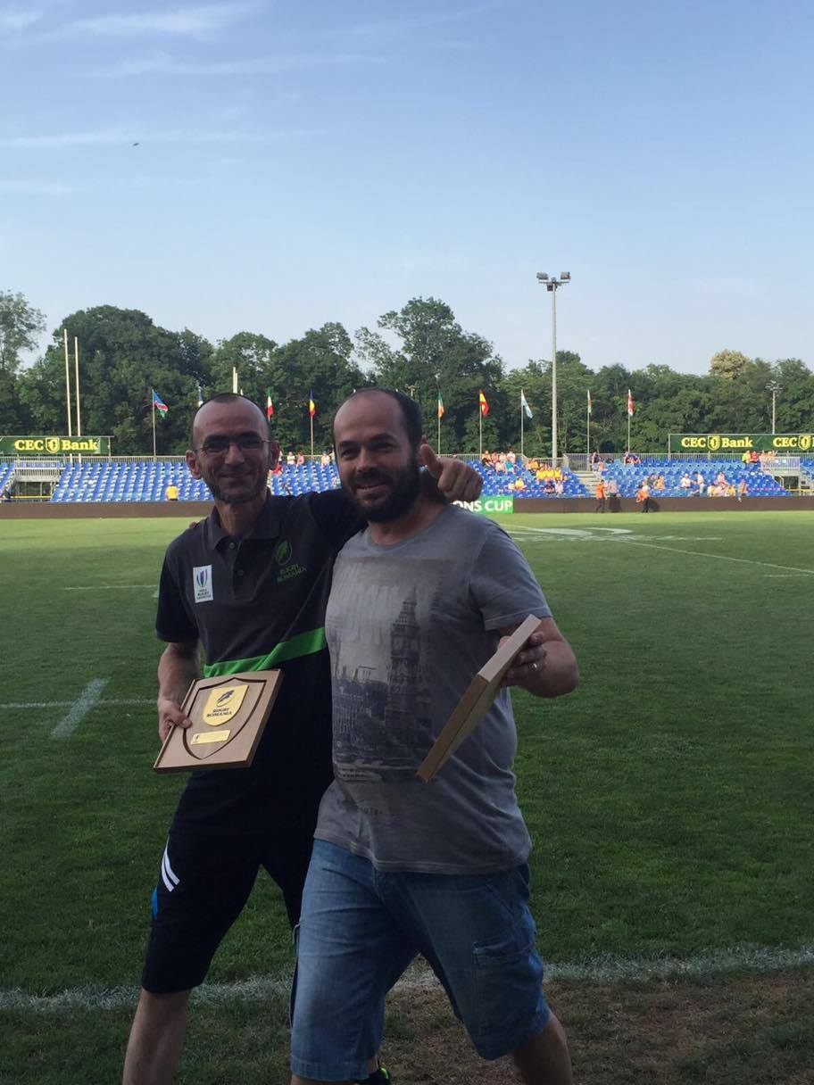 Marius Raczek si Mihai Dionise castigatorii Trofeul Anton Groman