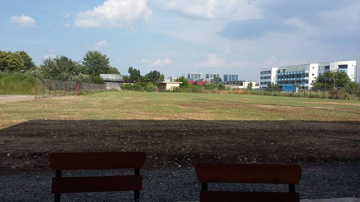 O noua echipa si un nou teren la Bucuresti