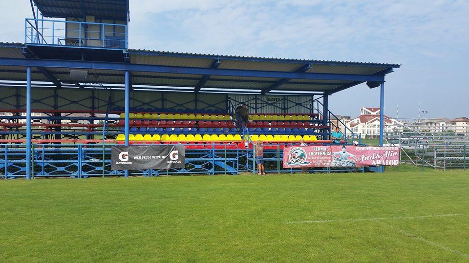 Arena Zimbrilor din Baia Mare va avea scaune tricolore