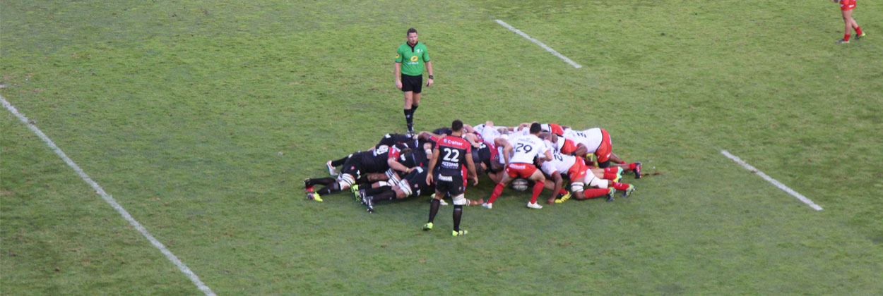 Toulon invinsa in prima etapa din Top 14
