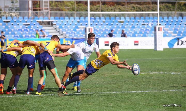 Romania locul 7 la Campionatul European de rugby 7 U18