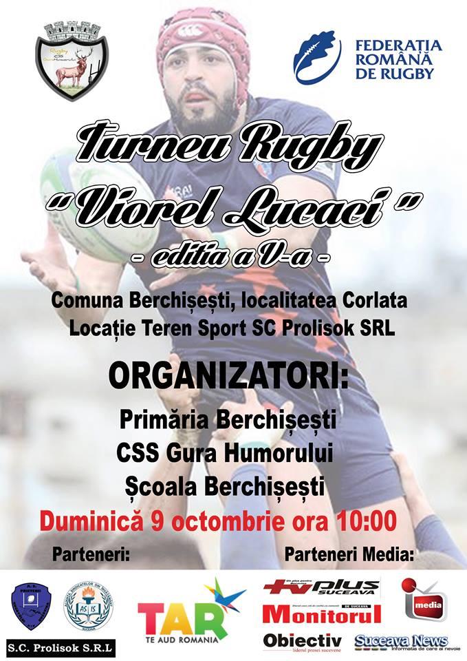 Trofeul Viorel Lucaci se va desfasura pe 9 octombrie