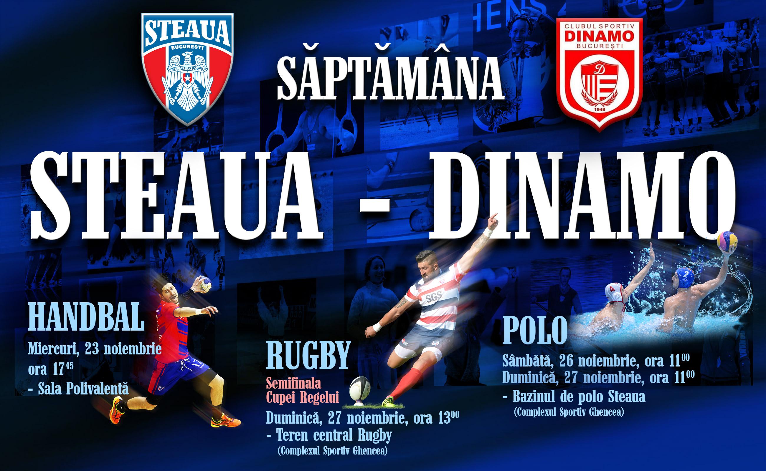 Balonul oval incheie tetralogia Steaua - Dinamo