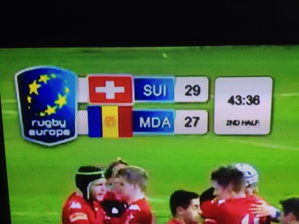 Moldova pierde cu doua bonusuri deplasarea in Elvetia