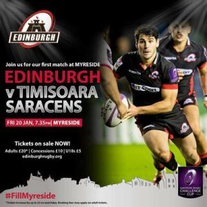 Timisoara va inaugura noul stadion din Edinburgh