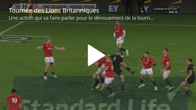 Romain Poite decizie istorica la finalul meciului Noua Zeelanda - Leii Britanici si Irlandezi