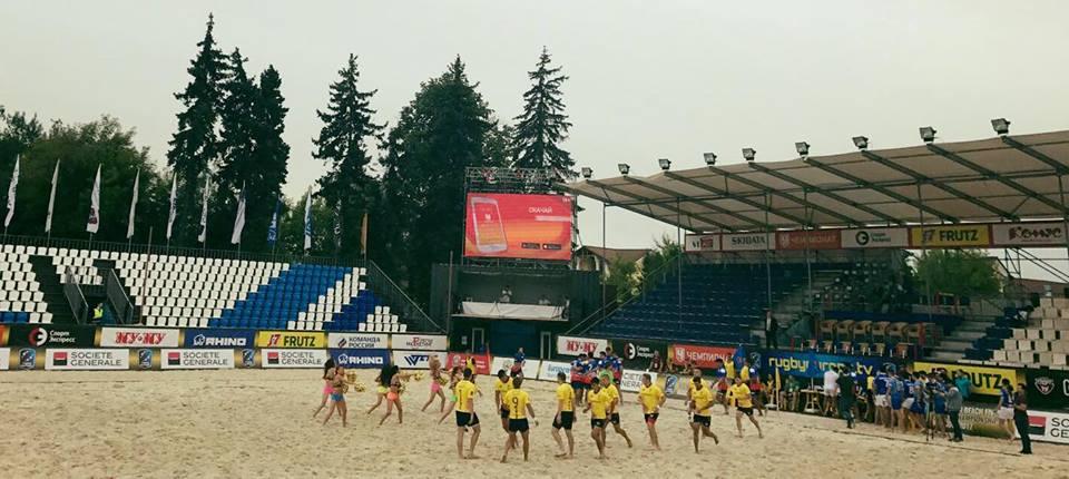 Romania in sferturile Campionatului European de rugby pe plaja