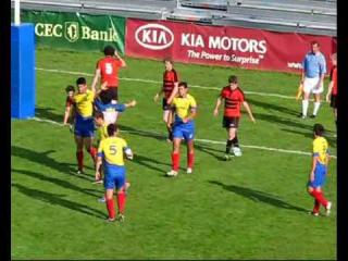 Ghindele la Campionatul European de rugby 7