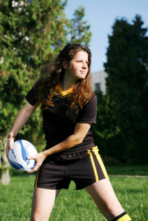 Adina Popescu, romanca decedata in Nepal, era jucatoare de rugby...