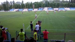 Cameramanii Dolce Sport in pericol pe Stadionul Ghencea