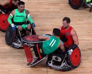 Se stiu duelurile semifinale in turneul paralimpic