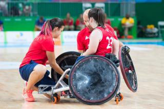 SUA - Australia, finala turneului paralimpic