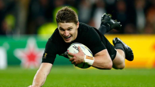 Beauden Barrett cel mai bun rugbyst in 2016