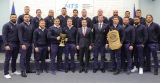 Lovitura de imagine pentru rugby-ul romanesc