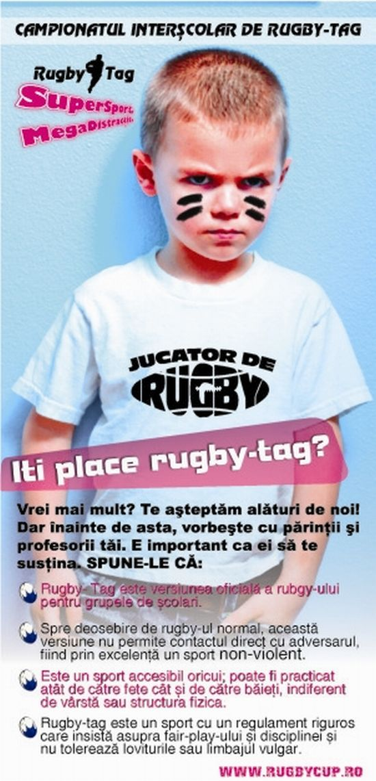 Iti place rugby tag?