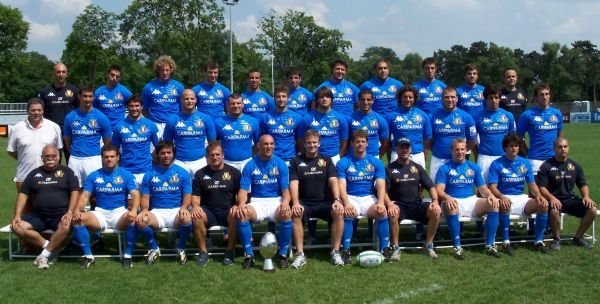 Nationala Italiei la IRB Nations Cup