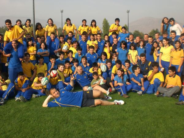 O zi plina de rugby in Chile